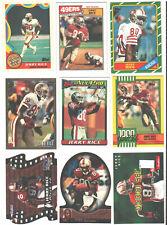 🔥🏈 JERRY RICE Pick Your Favorite Die-Cut Jersey S/N RC San Francisco 49ers HOF