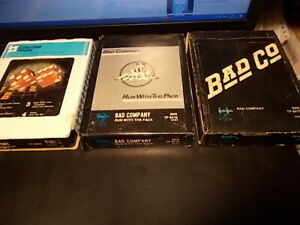 BAD COMPANY  Lot /3 /  ........  3 orig. 8track tapes