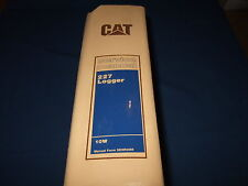 CAT CATERPILLAR 227 LOGGER SHOP REPAIR SERVICE MANUAL S/N 10W1-UP