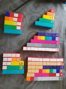 CBeebies Numberblocks 1-5,6-10,11-15,16-20 158 blocks in total!