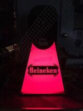 Vintage Heineken Beer Windmill Light, Sign, Von Munching & Co., Works Nice!
