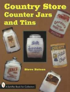 Antique Country General Store Glass Counter Jars & Advertising Tins ID Guide