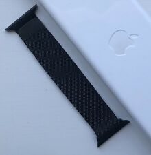 Genuine New Apple Watch Stainless Steel Space Black Milanese Loop - 38/40mm