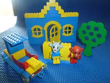 LEGO Fabuland 344 Tankstelle mit 2 Figuren 70er 70s Service Station v. 1979