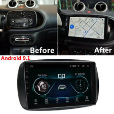 For 2015-20 Smart Fortwo 9'' Android 9.1 Car Stereo Radio GPS 1+16GB Navigation