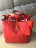 NWT Carolina Herrera Matryoshka Locked. Red  CH Shoulder & Handbag