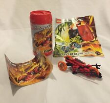 2000 Lego Technic Robo Riders Lava 8510 Instructions, Container & Poster