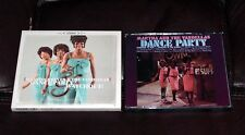 MARTHA & VANDELLAS Watchout! & Dance Party 2 albums on 1 CD UK Nowhere to Run