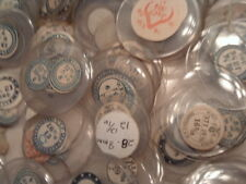 Watchmakers's over 200 Antique ALL GLASS crystals POCKET WATCHES and Watches