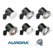 Aurora Steel Recessed Ceiling Lights & Chandeliers