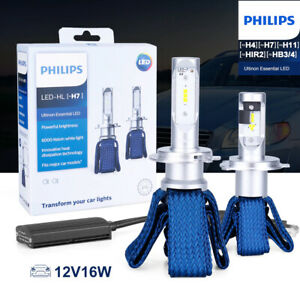 Philips Ultinon LED Kit for SATURN RELAY 2005-2007 Low Beam 6000K