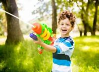 WATER GUN BLASTER PUMP SHOOTER KID TOY OUTDOOR SUMMER FUN MAKE PARTY CHILDREN