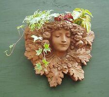 "Pietra ""LADY del giardino"" Decorativa Giardino Fioriera Muro"