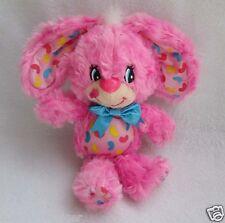 "Hallmark Yum Yums Jelly Bean Pink Bunny Rabbit 7"" Plush Toy Doll"