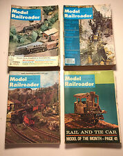 Vintage Model Railroader Train Magazines, Lot of 36,  Multiple Issues 1968-1983