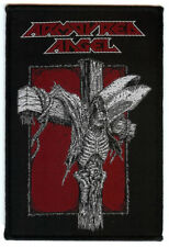 Armoured Angel Crucify The Clergy Patch Thrash Metal Aussie Metal Death Metal