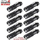 Ultrafire SK68 6000 LM CREE Q5 LED Flashlight Zoom Light US Stock Wholesale MT