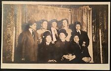 RPPC Real Photo Postcard 8 Women In Men's Clothes Crossdressing Lesbian Interest