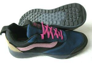 Vans Mens UltraRange Gibraltar Sea Blue Ebony Black Skate shoes Size 8.5 NWT
