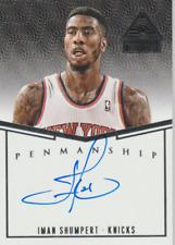 Iman Shumpert 2014 Panini Paramount Penmanship autograph auto card P-IS /99
