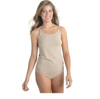 Vanity Fair Women's Seamless Tailored Camisole 17210 Damask Neutral XL
