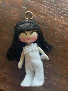 """Selena Doll Keychain Handmade In Mexico 5"""""""