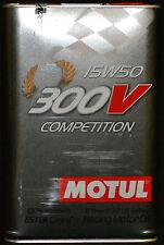 5 litros Motul 300v competition 15w50 aceite del motor vollsynthetisch racing petróleo
