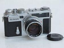 """Nikon RF rangefinder SP with 5cm f:1.4 black lens, US SELLER """"NICE"""" LQQK"""