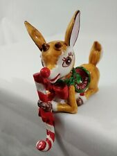 Vintage 1983 Ralph Lauren Rudolph Red Nosed Reindeer Stocking Hanger Christmas