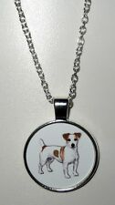 Jack Russel Terrier Hund Halskette Necklace -EMBG2 - NEU!