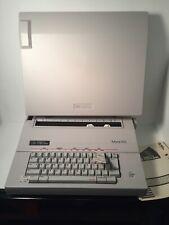 Vtg Smith Corona Mark VIII Electronic Typewriter With Correcting Cassette