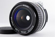[ Excellent+++ ]  Nikon  NIKKOR  28mm  F/3.5  MF Lens  from Japan  Free/S  #6047