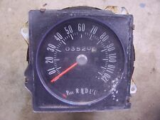 1970-1972 Buick Skylark GS interior speedometer gauge insert hot rod parts