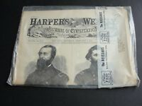 HARPER'S WEEKLY A Journal of Civilization -  February 7, 1863 - Reprint 1960's.