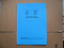 DUCATI BEVEL 860  860GT- 860GTS PARTS BOOK FOR 1974-1975 MODELS