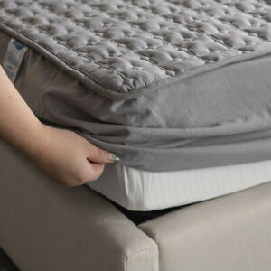2021 Washable and breathable mattress cover embossed Qui stitched extra large