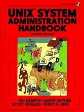 Unix System Administration Handbook (BkCd Rom) (2nd Edition) by Trent R. Hein,
