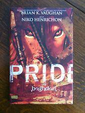 Pride of Baghdad Hardcover DC Comics Book War Zone Lions Vertigo Used Escape