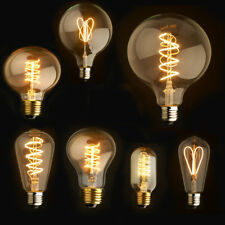 NEW 220V Dimmable LED Edison Lamp Filament Retro Vintage Industrial  Light Bulb