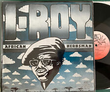 I ROY African Herbsman JOE GIBBS MUSIC JGML6045 00120 US Vinyl LP NM
