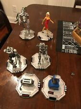 Evolution of the Cylon Battlestar Galactica Statues Figures with Boxes