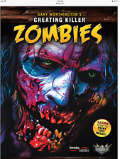 Creating Killer Zombies by Gary Worthington DVD Airbrush instruction Createx