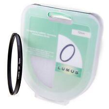 Lumos 72mm slim filtro UV incl. caja de almacenamiento se adapta a Sigma 17-70 18-300 -35