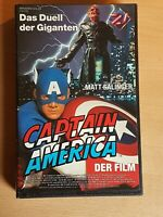 CAPTAIN AMERICA - Der Film / VHS Video