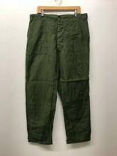 Vintage OG107 Fatigue Pants OD Army Pants W40 x L33 1960s-70s US Army K-42