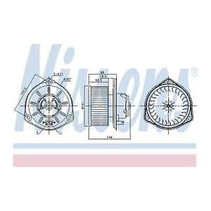 Fits Volvo 960 MK2 2.5 Genuine Nissens Interior Heater Blower Motor Fan