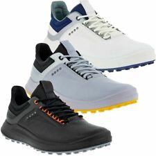 Ecco Golf Mens Core Lightweight Waterproof Spikeless Leather Golf Shoes
