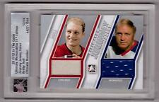 BOBBY HULL 11/12 ITG Ultimate Dual Journey Jersey /24 Blackhawks Winnipeg Jets