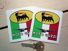 Style MOTO GUZZI AGIP TRICOLORA autocollants Le Mans T3 etc.