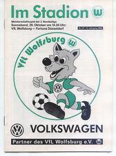 II. BL 94/95 VfL Wolfsburg - Fortuna Düsseldorf, 29.10.1994  Porträt Mike Lapper